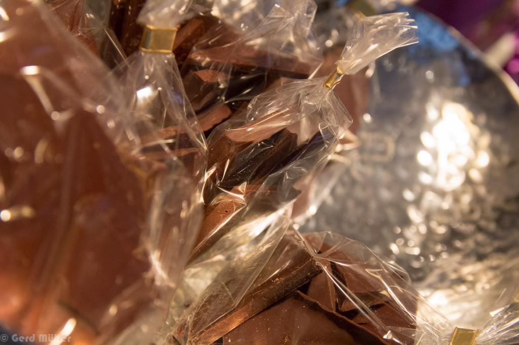 Schokolade aus eigener Herstellung